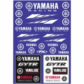 KIT AUTOCOLLANTS UNIVERSEL EFFEX YAMAHA RACING planche auto collants