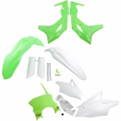 KIT PLASTIQUE CYCRA 6 ELEMENTS KAWASAKI VERT FLUO 250 KX-F 2017-2019 kit plastique cycra powerflow