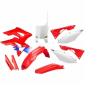 KIT PLASTIQUE CYCRA 6 ELEMENTS ORIGINE HONDA 450 CR-F 2017-2019 kit plastique cycra powerflow