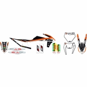 KIT DECO BLACK BIRD REPLICA TEAM TROPY KTM SX/SX-F 2013-2015 kit deco