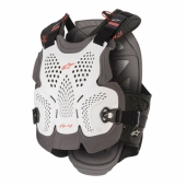 PARE PIERRE ALPINESTARS A-4 MAX CHEST BLANC/ANTHRACITE/ROUGE pare pierre
