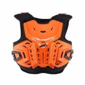 Pare-pierre LEATT 4.5 ORANGE/BLANC KID  protections kids