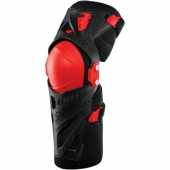 GENOUILLERE THOR GUARD XP ROUGE/NOIR KID protections kids