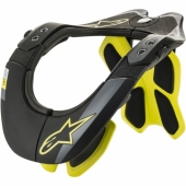 PROTECTION CERVICAL ALPINESTARS BNS TECH 2 NOIT/JAUNE FLUO protections cervicales