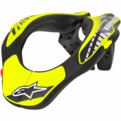 PROTECTION CERVICAL ALPINESTARS KID NOIR/JAUNE FLUO protections cervicales