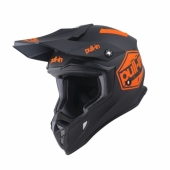 CASQUE MOTO CROSS PULL-IN TRASH ROUGE/NOIR casques