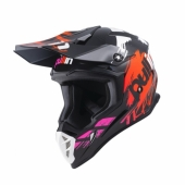 CASQUE MOTO CROSS PULL-IN RACE VERT/CHARCOAL casques