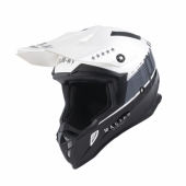 CASQUE MOTO CROSS PULL-IN RACE ROUGE/NOIR casques