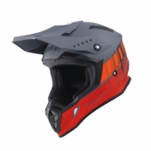 CASQUE MOTO CROSS PULL-IN RACE GRIS/ARGENT casques