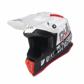 CASQUE MOTO CROSS PULL-IN SOLID NOIR/JAUNE FLUO casques