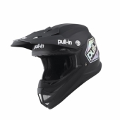 CASQUE MOTO CROSS PULL-IN KID SOLID ORANGE/NAVY casque kids