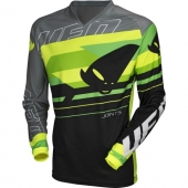 MAILLOT CROSS UFO JOINT GRIS/VERT maillots pantalons