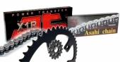 Kit chaîne JT 428 KAWASAKI 85 KX  grande roues 2001-2019 kit chaine