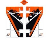 KIT DECO DE GRILLE DE RADIATEUR KTM SX/SX-F 2016-2018 kit deco radiateur