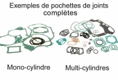 KIT JOINTS COMPLET HONDA 250 CR 1984 joints moteur