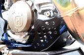 Sabot GP AXP PHD noir HUSQVARNA 250 TC 2019-2020 sabots axp