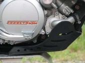 Sabot enduro AXP PHD noir KTM 450 EX-C 2012-2016 sabots axp