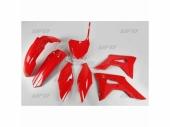 Kit plastiques UFO rouge HONDA 450 CR-F 2017-2020 kit plastiques ufo