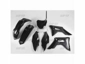 Kit plastiques UFO noir HONDA 450 CR-F 2017-2020 kit plastiques ufo