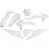 Kit plastiques UFO BLANC 2020 KTM 125 SX 2019-2020 kit plastiques ufo