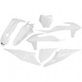 Kit plastiques UFO BLANC 2020  KTM 450 SX-F 2019-2020 kit plastiques ufo