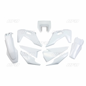Kit plastique UFO BLANC HUSQVARNA 350 FE 2020 kit plastiques ufo