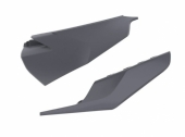 Plaques latérales POLISPORT GRIS NARDO HUSQVARNA 300 TE/TEI 2020 plastique polisport