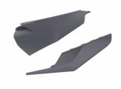 Plaques latérales POLISPORT GRIS NARDO HUSQVARNA 125 TC 2019-2020  plastique polisport
