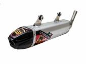 Silencieux FRESCO Carby aluminium/casquette carbone KTM 250 SX 2006-2016 echappements
