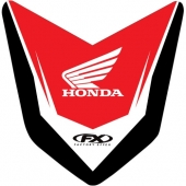 AUTOCOLLANT DE GARDE BOUE AVANT EFFEX HONDA 450 CR-F 2009-2012 kit stikers effex garde boue