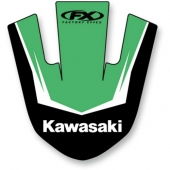 AUTOCOLLANT DE GARDE BOUE AVANT EFFEX KAWASAKI 250 KX-F 2017-2018 kit stikers effex garde boue