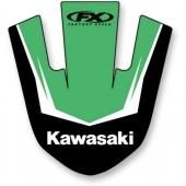 AUTOCOLLANT DE GARDE BOUE AVANT EFFEX KAWASAKI 450 KX-F 2016-2018 kit stikers effex garde boue