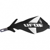 protege mains UFO DISCOVER AVEC RENFORT ALU NOIR protege main