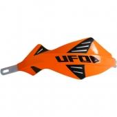 protege mains UFO DISCOVER AVEC RENFORT ALU ORANGE protege main