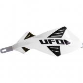 protege mains UFO DISCOVER AVEC RENFORT ALU BLANC protege main