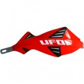 protege mains UFO DISCOVER AVEC RENFORT ALU ROUGE protege main