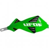 protege mains UFO DISCOVER AVEC RENFORT ALU VERT protege main