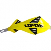 protege mains UFO DISCOVER AVEC RENFORT ALU JAUNE protege main
