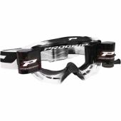 LUNETTE  PROGRIP MX 3200 VENON NOIRE / BLANCHE AVEC ROLL OFF  lunettes