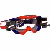 LUNETTE  PROGRIP MX 3200 VENON ROUGE / BLEUE AVEC ROLL OFF lunettes