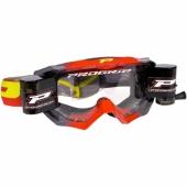 LUNETTE  PROGRIP MX 3200 VENON ROUGE / GRISE AVEC ROLL OFF lunettes