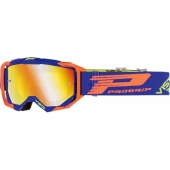 LUNETTE CROSS PROGRIP 3303 VISTA BLEUE / ORANGE FLUO lunettes