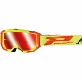 LUNETTE CROSS PROGRIP 3303 VISTA JAUNE FLUO / ROUGE lunettes