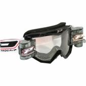 LUNETTE  PROGRIP 3208 MX/ENDURO NOIRE AVEC ROLL OFF  lunettes