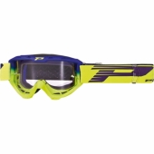 LUNETTE PROGRIP 3450 RIOT  BLEU ELECTRIQUE / JAUNE FLUO lunettes