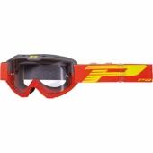 LUNETTE PROGRIP 3450 RIOT  GRISE / ROUGE lunettes