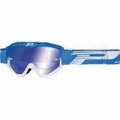 LUNETTE PROGRIP 3450 RIOT  BLEU CLAIR / BLANCHE AVEC VERRES MIROIR lunettes