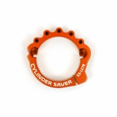 Protection sortie cylindre-échappement S3 orange KTM  250/300 EX-C 2017-2020 accesoires echappements