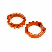 Protection sortie cylindre-échappement S3 orange HUSQVARNA 250/300 TE 2017-2020 accesoires echappements
