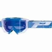 LUNETTE PROGRIP MX 3200 VENON MIRROR BLEU CLAIR / BLANCHE lunettes
